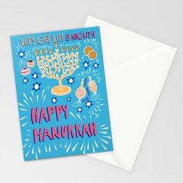 Happy Hanukkah-Festival of Lights Stationery Cards