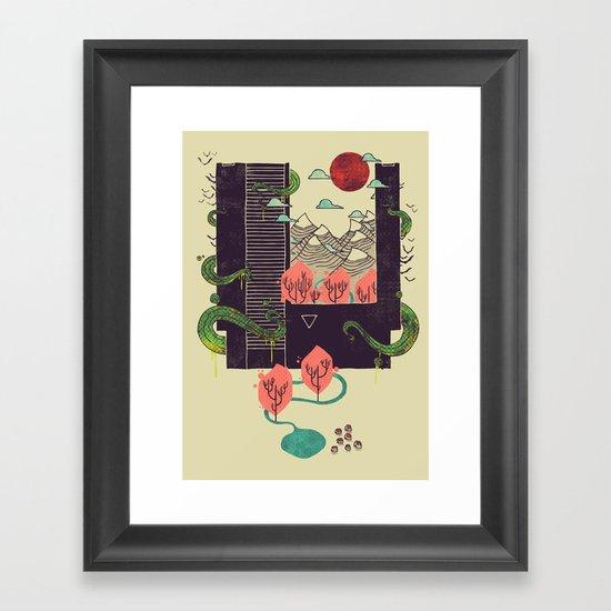 A World Within Framed Art Print