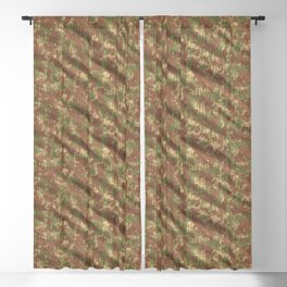 Forest Army Camouflage Blackout Curtain