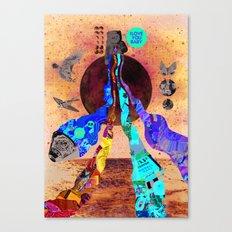 Luna Marina Canvas Print