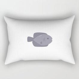 Fish.Poster for children. Animals. Poster with animals Rectangular Pillow