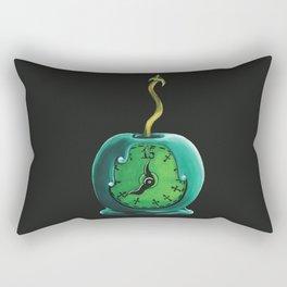 Haunted Mansion 13th Hour Clock Apple Rectangular Pillow