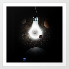Outer bulb Art Print