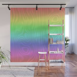 Groovy Pastel Rainbow Wall Mural