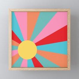 Ray of Sunshine 1950s Framed Mini Art Print