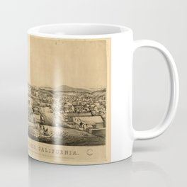 View of San Francisco, California: taken from Telegraph Hill, April 1850 Coffee Mug