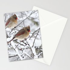 Female Cardinal Stationery Cards