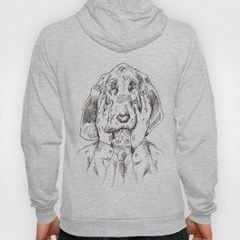 Sad Bloodhound Hoody