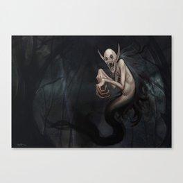 Wild Vampire Canvas Print