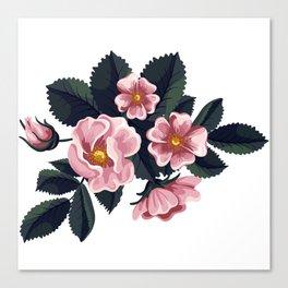 Bouquet of rose - Vintage Canvas Print