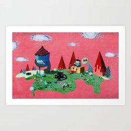 Fun World Art Print