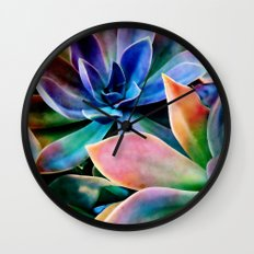 Spectacular Succulents 2 Wall Clock