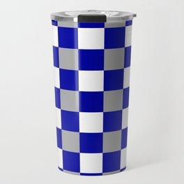 Team Colors 11...navy,gray,white Travel Mug