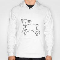 lamb Hoodies featuring lamb by Alexandr-Az