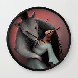The Rat King Wall Clock