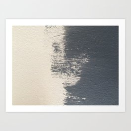 Blue shade Art Print