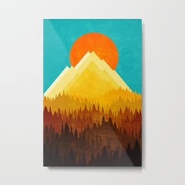 HOT LANDSCAPE Metal Print