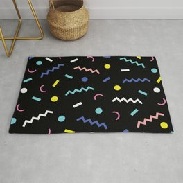 Memphis Pattern 19 - Party / 80s Retro Rug