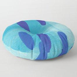 Blue Lyric 4 Floor Pillow