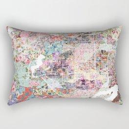 Arlington map Texas Rectangular Pillow