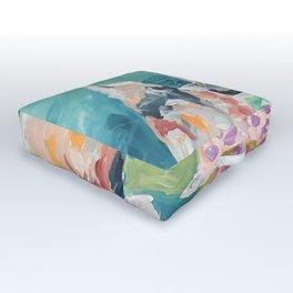 Abstract XIV Outdoor Floor Cushion