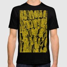 Gold Sugarcane Mens Fitted Tee Black MEDIUM