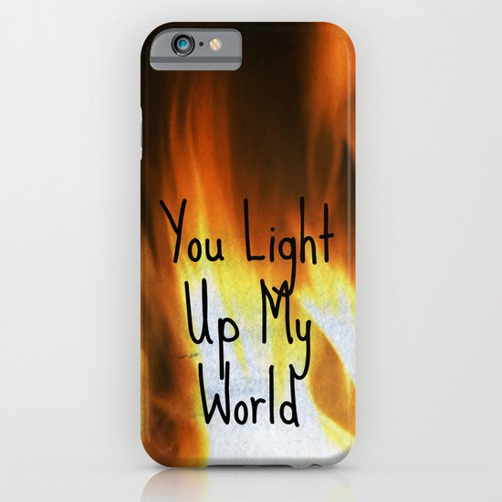 You Light Up My World iPhone & iPod Case