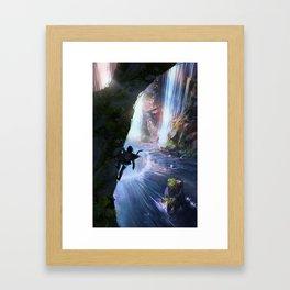 Zora's Domain Framed Art Print