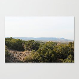 The Hills of West Texas Canvas Print