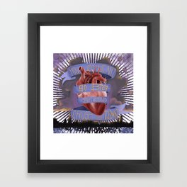 Heart So Big-Chicago Framed Art Print