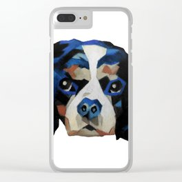 King Charles Clear iPhone Case