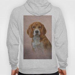 Drawing Dog Beagle Hoody