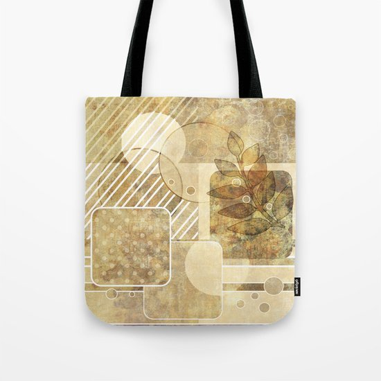 The old map . Grunge . Retro . Vintage . Tote Bag