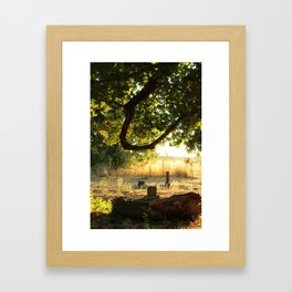 Looper's Cemetery 2 Framed Art Print
