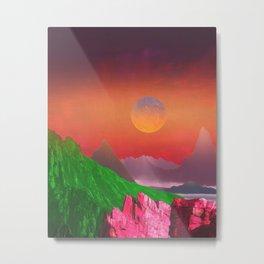 Landscape & Modern graphic 03 Metal Print