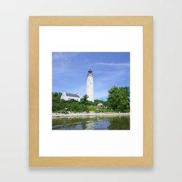 Chantry Island Light Framed Art Print