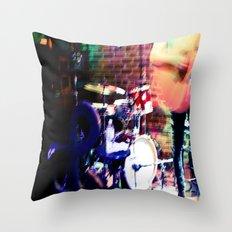 Jammin' Throw Pillow
