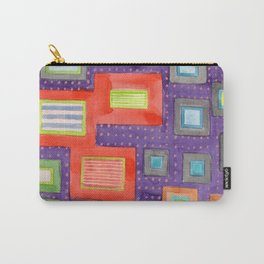 Various Frames on dotted Wall Carry-All Pouch