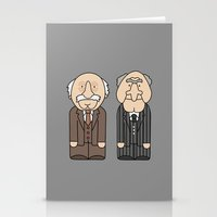 muppets Stationery Cards featuring Statler & Waldorf – The Muppets by Big Purple Glasses