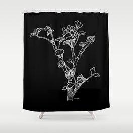 Geranium Shower Curtain