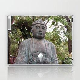 Buddha Statue Laptop & iPad Skin