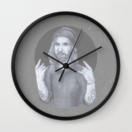 Rock and Rollo Wall Clock