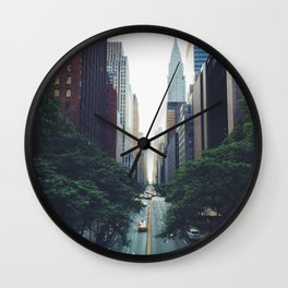 City Park New York 4 Wall Clock