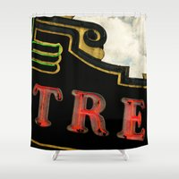 theatre Shower Curtains featuring Old Theatre by Massimiliano Bertozzi