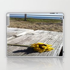 flower by the sea Laptop & iPad Skin