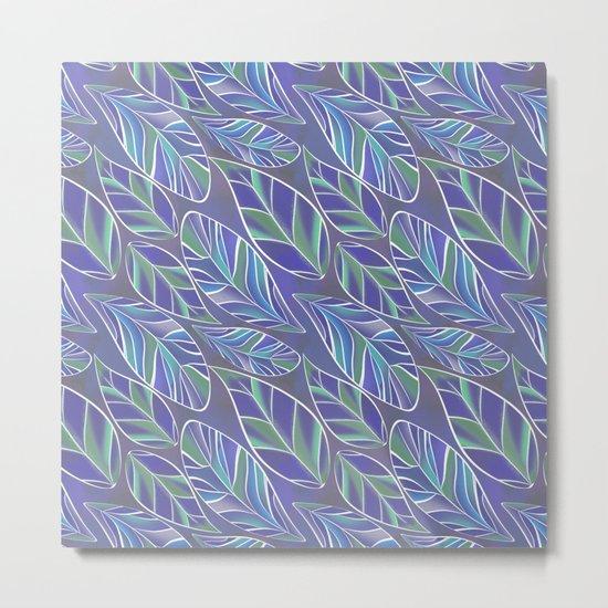 Leaves 2 Metal Print