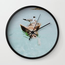 lets swim Wall Clock