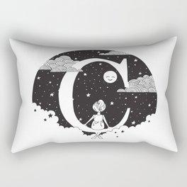 Dreamy C Rectangular Pillow