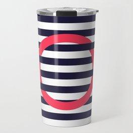 GEOMETRY RED&BLUE III Travel Mug