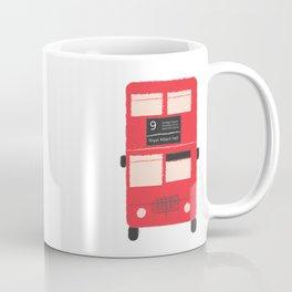 Red Double Decker Bus  Coffee Mug